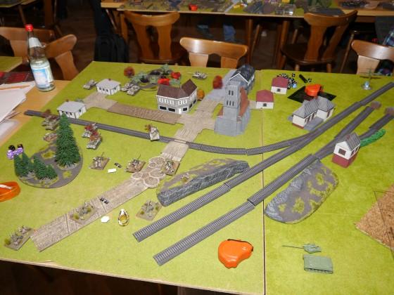 Fall Weiss Blau - Tournament Table