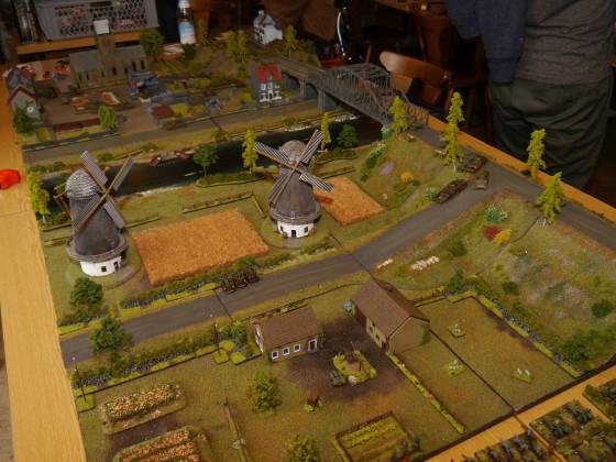 Scenario Table - Zauberlehrlings Fields of Holland in Tabletop Format